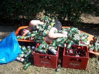 betrunkene dekorieren